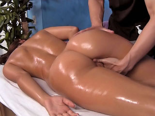 Dominate hot brunette babe sucks cock explosion sporadically gets fucked abiding