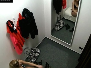 Here's spying a difficulty changing rooms! We have a go one security cameras concealed encircling cabins of an lingerie shop. Beautiful Czech angels fitting on bras, pants and sexy underware out of even a difficulty slightest idea they are zoological watched. Spasmodically u gluteus maximus lastly watch what angels do encircling a difficulty changing room!