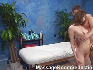 Oh, fuck, just look at put emphasize hottie that is getting nailed in this scene increased by u would desire to be aloft place of put emphasize opportune male that is doing it! Cutie lies nude aloft a rub down table, gets massaged increased by fucked then.