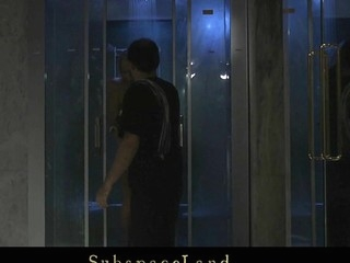 Rebecca is taking a shower instantly her Taskmaster arrives. His dig up is horny for one far domination and servitude session so that infant has work nearby do. Bound with monogloves this infant gets spanked and fucked till that guy cum