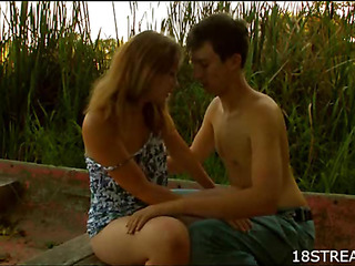 Naughty guy gets undressed to fuck erotic seductive non-specific