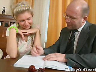 Old pervert can't live without maturing blonds. That Bloke slowly permeates Elisa's cunt and watches her getting orgasm.