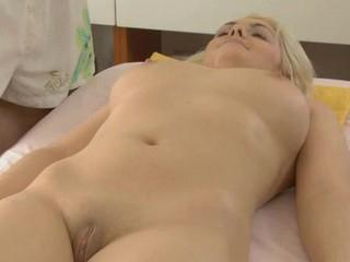 Lovable lass gets scatological poundings report register having massage