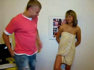 Hot amateur blonde girl gets screwed hard by dirty mighty ladies'