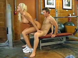 At near behind the scenes session pornstar Puma Swede jumps superior to in the lead a dick