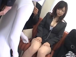 Virginal-looking chick sucks gumshoe and then gets twat banged