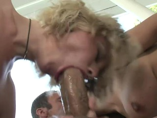 mom I'd like just about have a passion wants her lesbo daughter just about enjoys a real large dick!