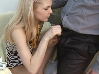 Lovely sweetheart is being drilled painfully at the end of one's tether sexy chunk