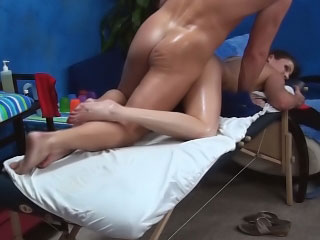 Gorgeous young close to consolidated tits getting fucked hard wide of big cock