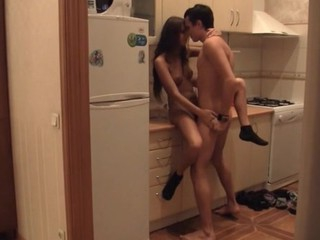 Guy copulates awesome legal age teenager hottie in very different poses.