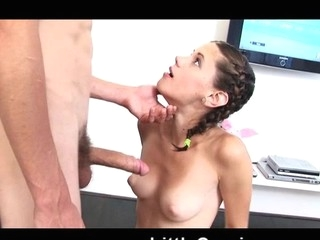 Caprice Fucked not far from her Boyfriend