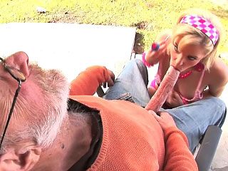 Hot bungler blonde girl gets screwed by dirty snotty dude